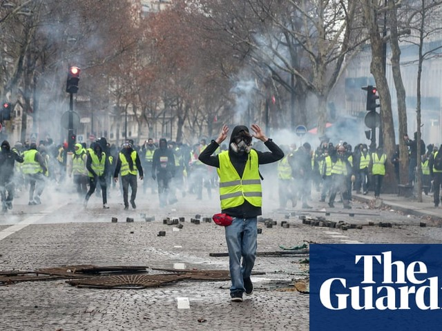 Europe holds its breath as Macron scrambles to quell protests | Jon Henley