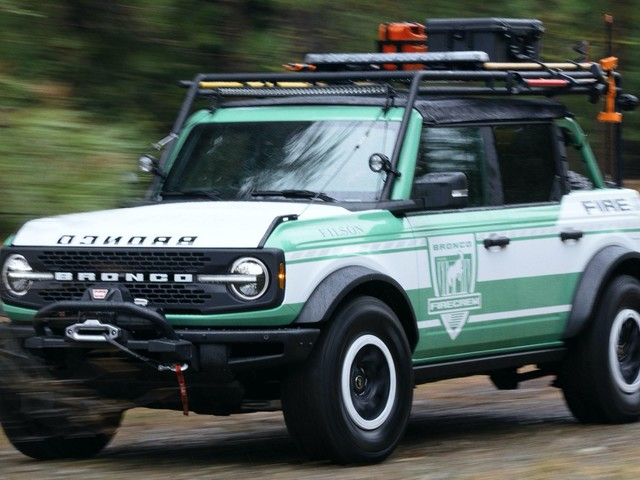 Ford And Filson Team Up For Cool Bronco Wildland Fire Rig Concept