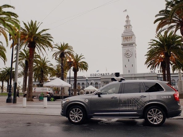 Uber relents and suspends self-driving car tests in San Francisco