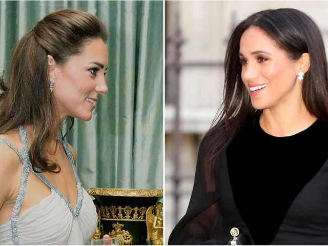 See Meghan Markle and Kate Middleton's First Solo Engagements, Side by Side