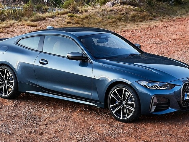 We don't mind if you change the 4 Series look: BMW