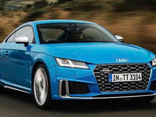 Facelifted 2019 Audi TTS Leaks With RS-Inspired Looks