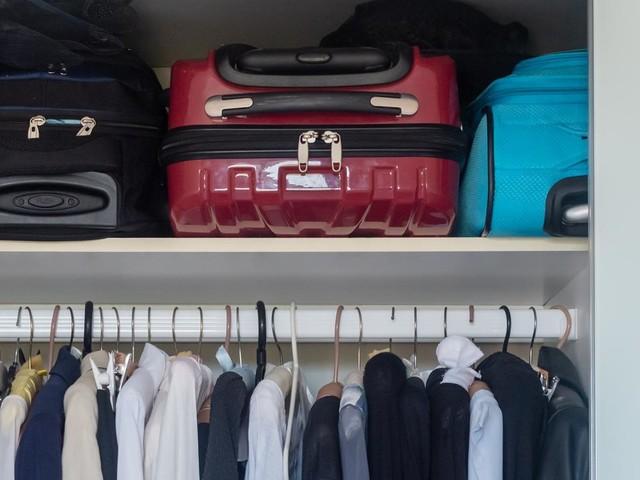 Traveller's genius idea for old suitcases