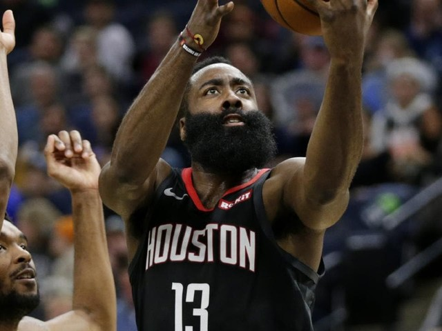 James Harden drops 49 points on 41 shots as Houston Rockets win seventh straight game