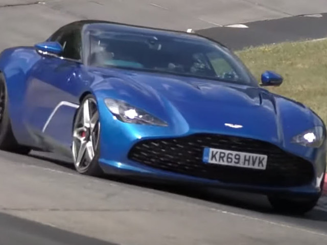 Watch The 2021 Aston Martin DBS GT Zagato Being Put Through Its Paces