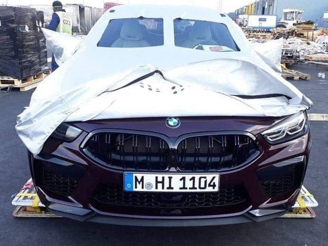 2020 BMW M8 Competition Does A Strip Tease In South Africa