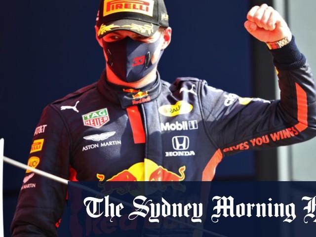 Verstappen eclipses Hamilton to win 70th Anniversary Grand Prix
