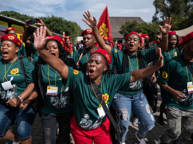 South Africa: New party 'serious about revolution'
