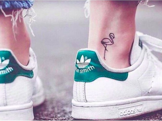 10 Flamingo Tattoos That Will Make You Think Pink