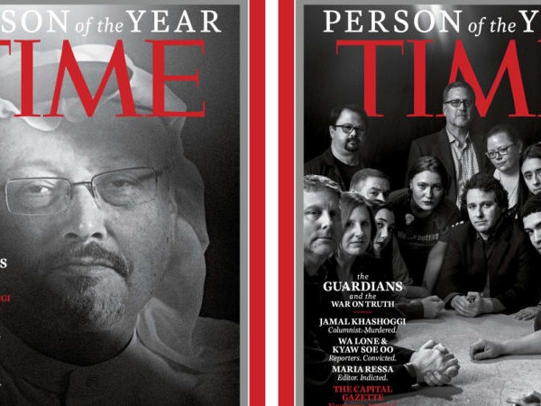 Four journalists and a newspaper are Time's Person of the Year