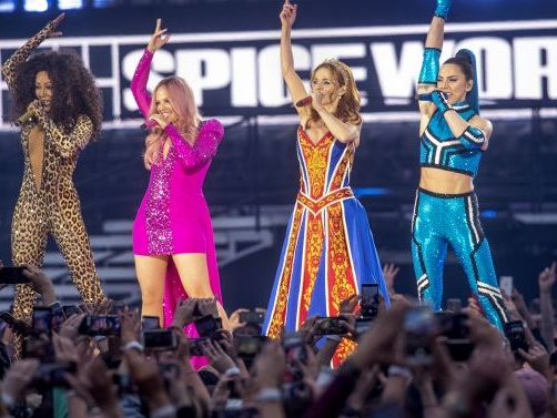 Mel B announces the Spice Girls' world tour is coming to Australia