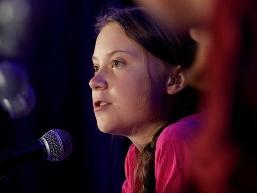 Greta Thunberg is still sailing across the Atlantic on her way to the COP 25 climate meeting in Spain. She's a day late