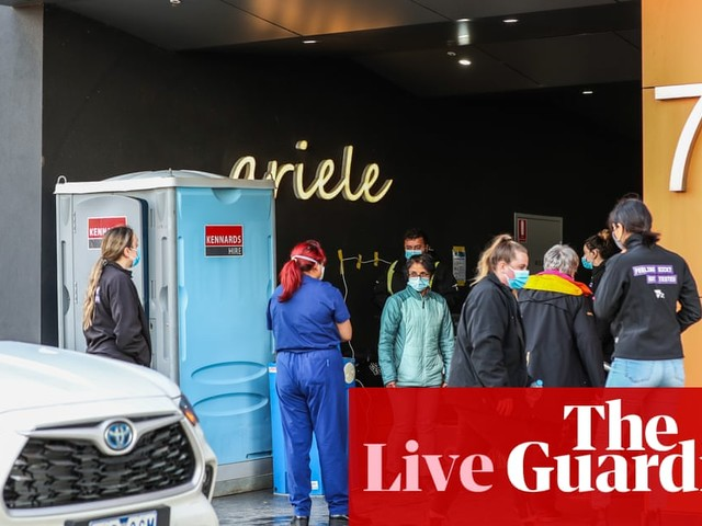 Australia Covid live update: health workers exposed to virus at two more Sydney hospitals; Victorians told to wear masks indoors
