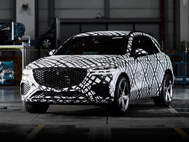 2021 Genesis GV70 teased: New Mercedes-Benz GLC, Audi Q5 and BMW X3 rival set for Australia