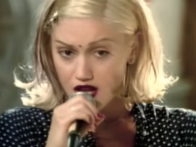 "Gwen Stefani Added ""a Little Bit of Blake"" While Rewearing Her ""Don't Speak"" Video Dress"