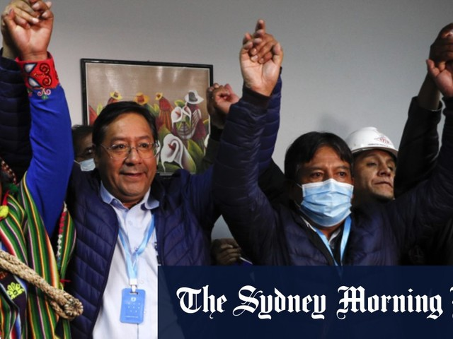 Exiled ex-president's party defeats US-backed government in Bolivia's presidential election