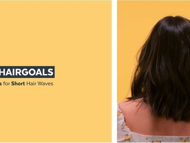 Foolproof Tips for Creating Textured, Beachy Waves in Short Hair