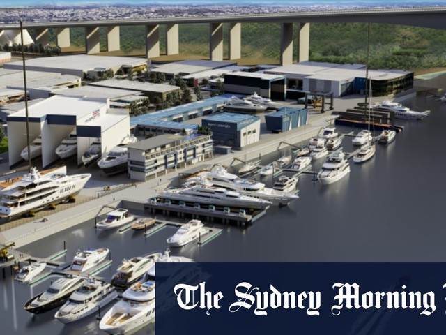 $200m for Brisbane marina to create super shipyard in superyacht boom