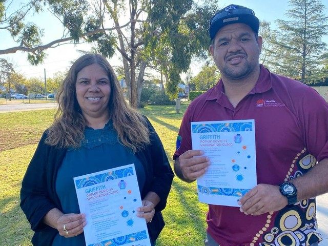 Pfizer vaccination drive for Indigenous community