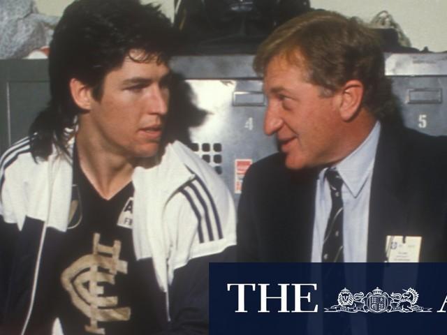 Blues greats pay tribute to John Elliott, who defined Carlton