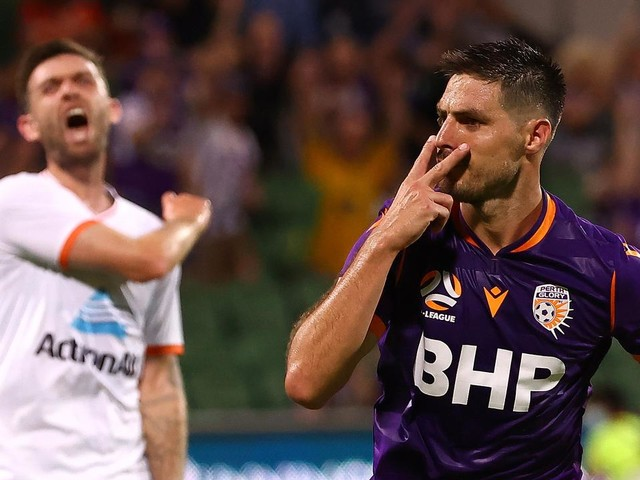 'A clear penalty': VAR under fire as Perth inflict more pain on Brisbane