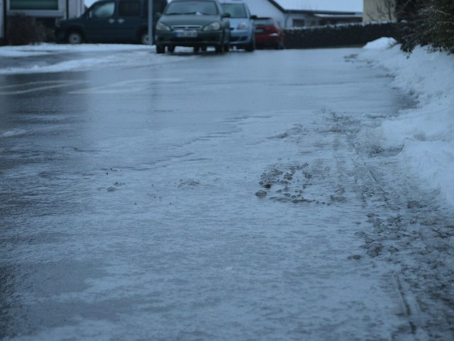 Ice warning for Surrey and Hampshire