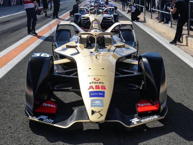 DS Techeetah Shows Off New E-TENSE FE19 Formula E Car