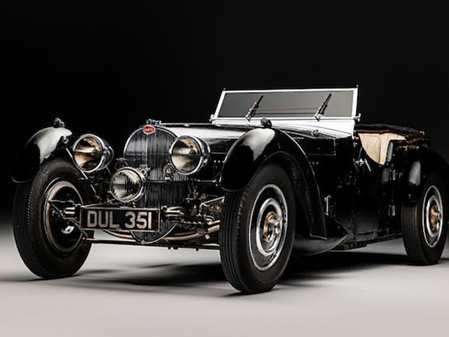 Rare 1937 Bugatti Type 57S Being Auctioned Off Spent 50 Years In Hiding