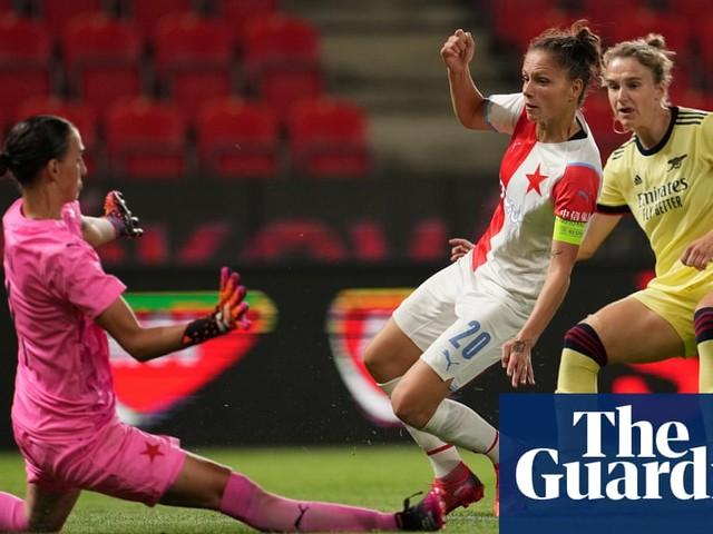 Vivianne Miedema hits hat-trick as Arsenal Women rout Slavia Prague