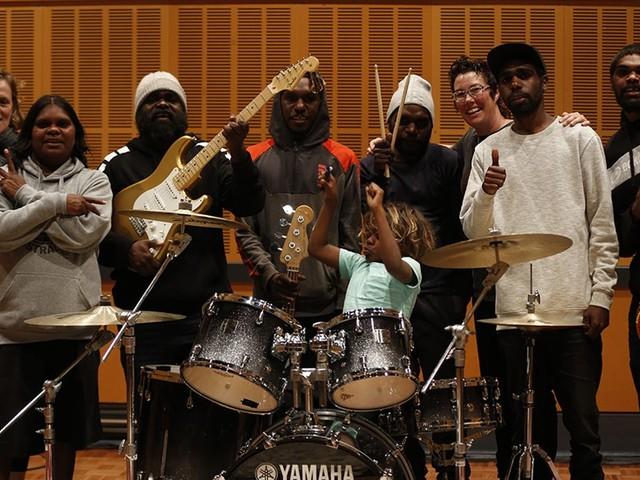 The Recording Studio Series 1 Mutitjulu Band and Connor Sharpe