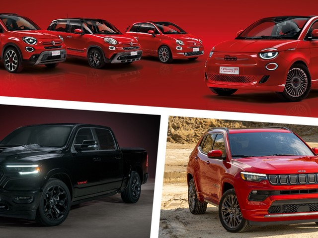 Fiat, Jeep, And RAM Launch (RED) Special Edition Models In Pandemic-Fighting Campaign