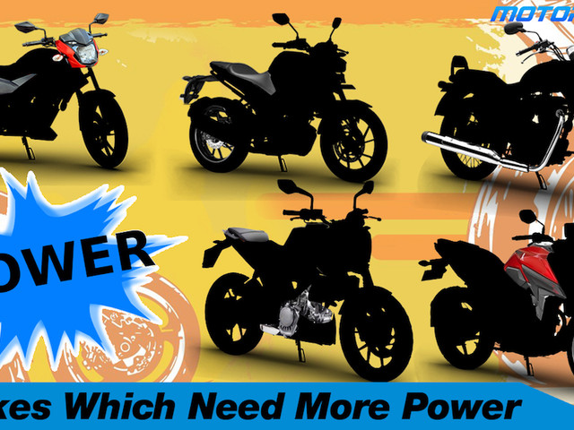 5 Motorcycles Which Really Need More Power [Video]