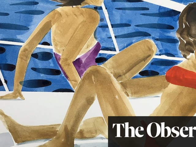 Watercolour glimpses of a Greek summer – in pictures