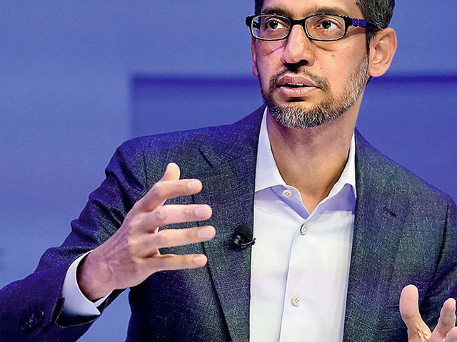 We want to invest in local talent: Pichai