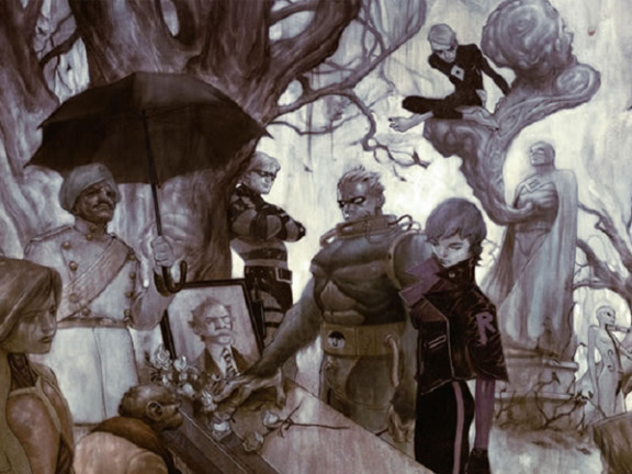 Take A Peek At The Heroes (And Umbrellas) Of The Umbrella Academy TVSeries