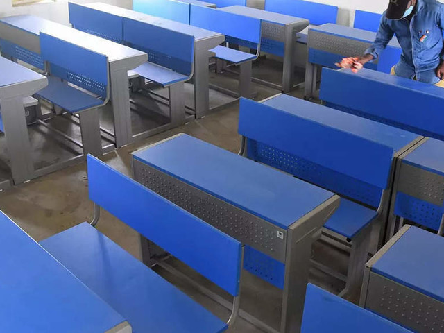 Karnataka schools, colleges reopen for classes 9-12