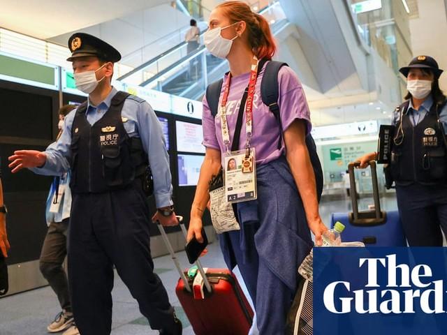 Belarus' Krystsina Tsimanouskaya safe in Tokyo after asking IOC for help – video
