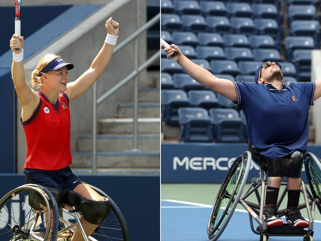 On the Same Day, Diede de Groot and Dylan Alcott Achieve the First Golden Slams in Wheelchair Tennis History