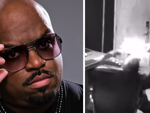 Cee-Lo Green Lets Fans Know He's Alive After Clip Of Phone Blowing Up In His Hand Emerges