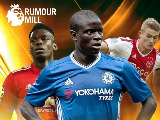 Rumour mill: PSG lining up huge bid for N'Golo Kante, Paul Pogba told to hand in transfer request to force Real Madrid move