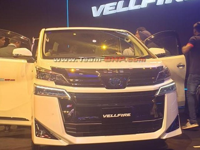 Toyota Vellfire Brochure Leaked, Showcased In India