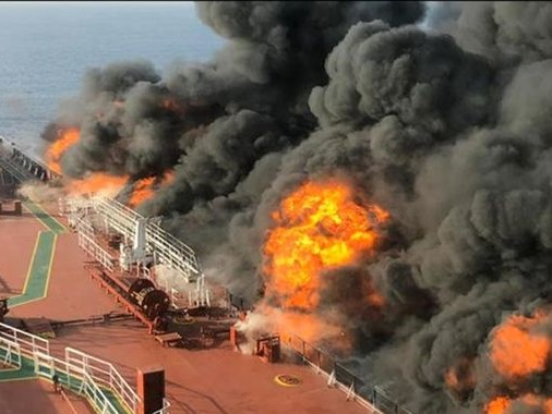 Saudi Arabia's crown prince blames Iran for oil tanker attacks