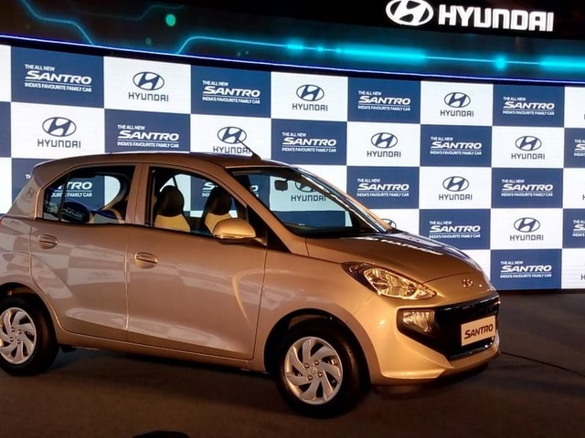 2019 Hyundai Santro Launched, Priced From Rs. 3.90 Lakhs