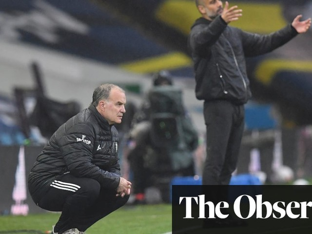 Anarchic spectacle leaves Bielsa's and Guardiola's heads spinning | Jonathan Liew