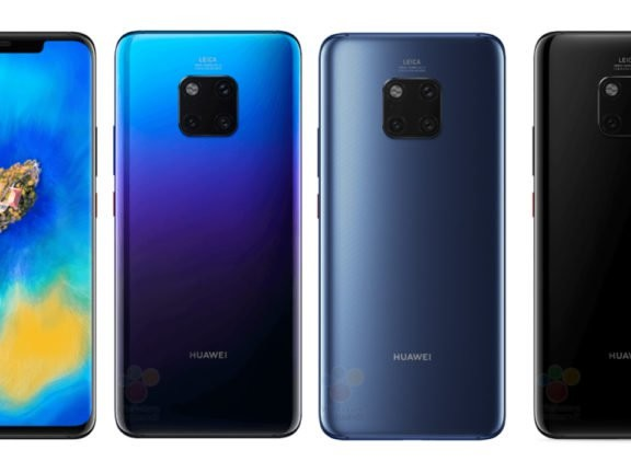 The First Huawei Mate 20 Pro Images Have Leaked