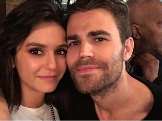 Be Still Our Hearts! Nina Dobrev and Paul Wesley Have a Cuddly Vampire Diaries Reunion