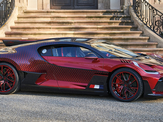 Bugatti Divo 'Lady Bug' Took Around Two Years To Complete – And They Almost Gave Up On It