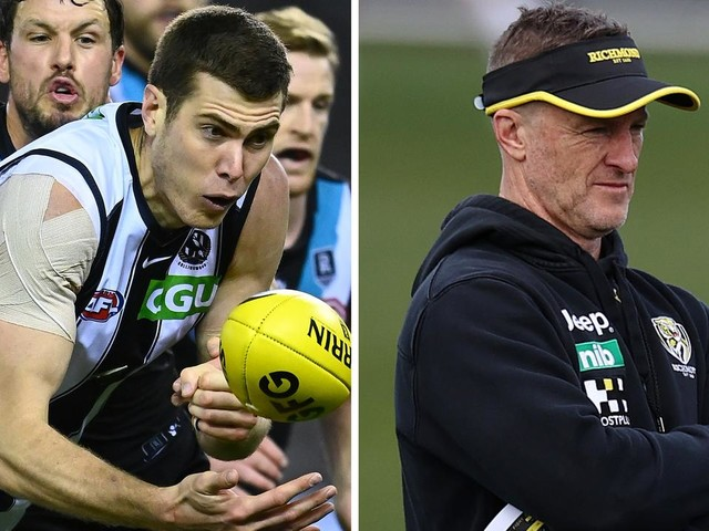 Cox reveals candid chat with Pies coach, future plans; race for No.3 pick heats up: Trade Whispers