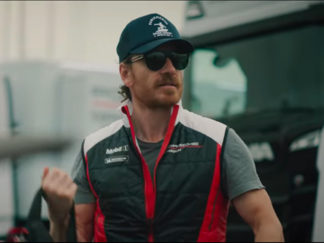 Michael Fassbender is on the road to Le Mans with Porsche - Roadshow
