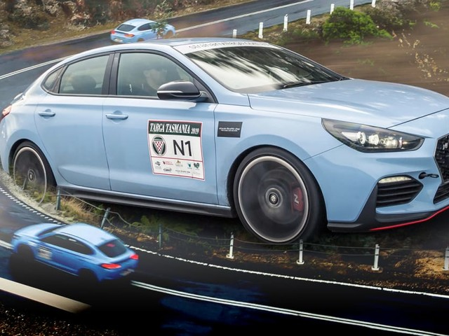 Hyundai i30N Fastback: Targa Tasmania test drive